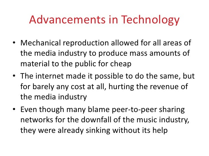 the future of music industry essay As technology has changed so too has the nature of the music industry but  the  future of social media in music - music pm - the hippodrome casino, london.