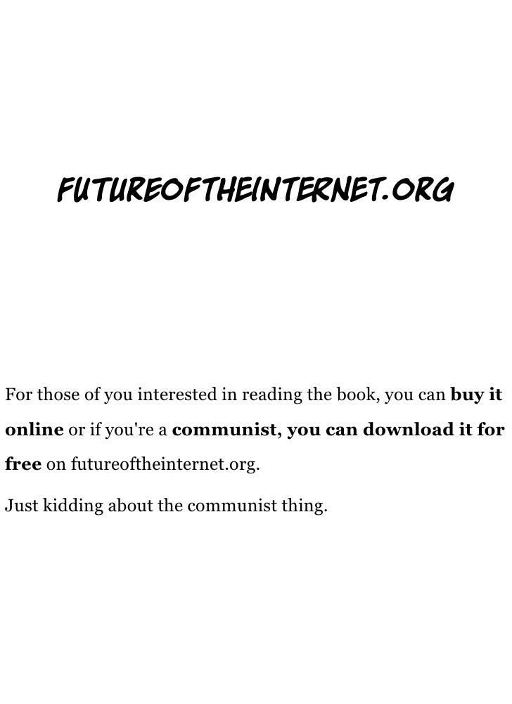fu       reoft           int           t.org     For those of you interested in reading the book, you can buy it online or...