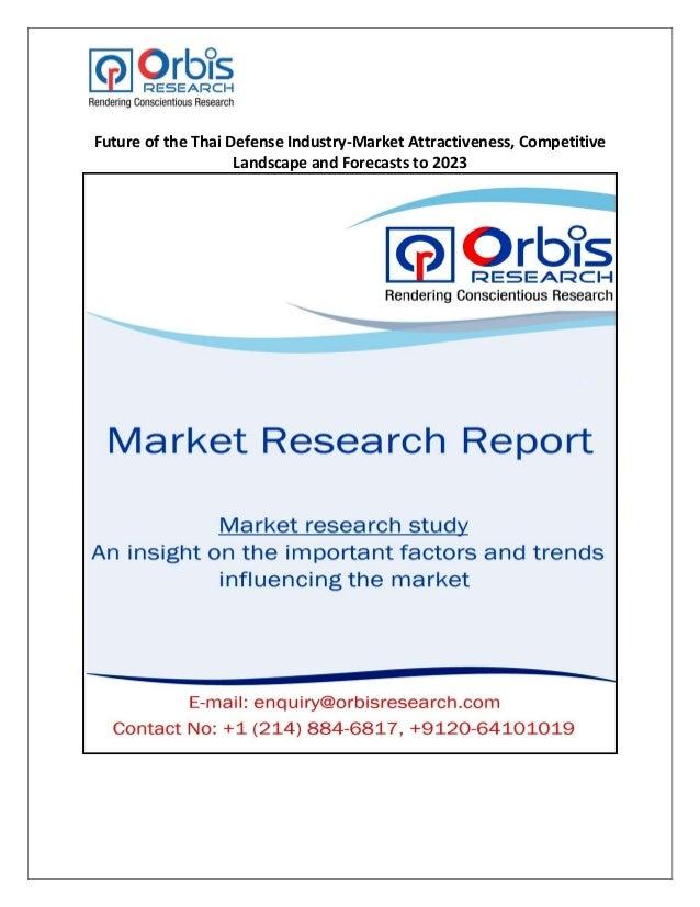 Future of the Thai Defense Industry-Market Attractiveness