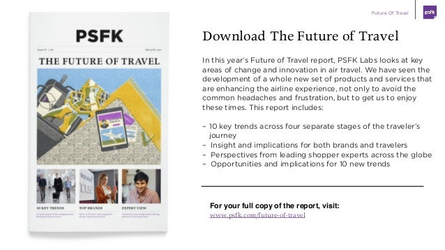Future Of Travel Slide 2