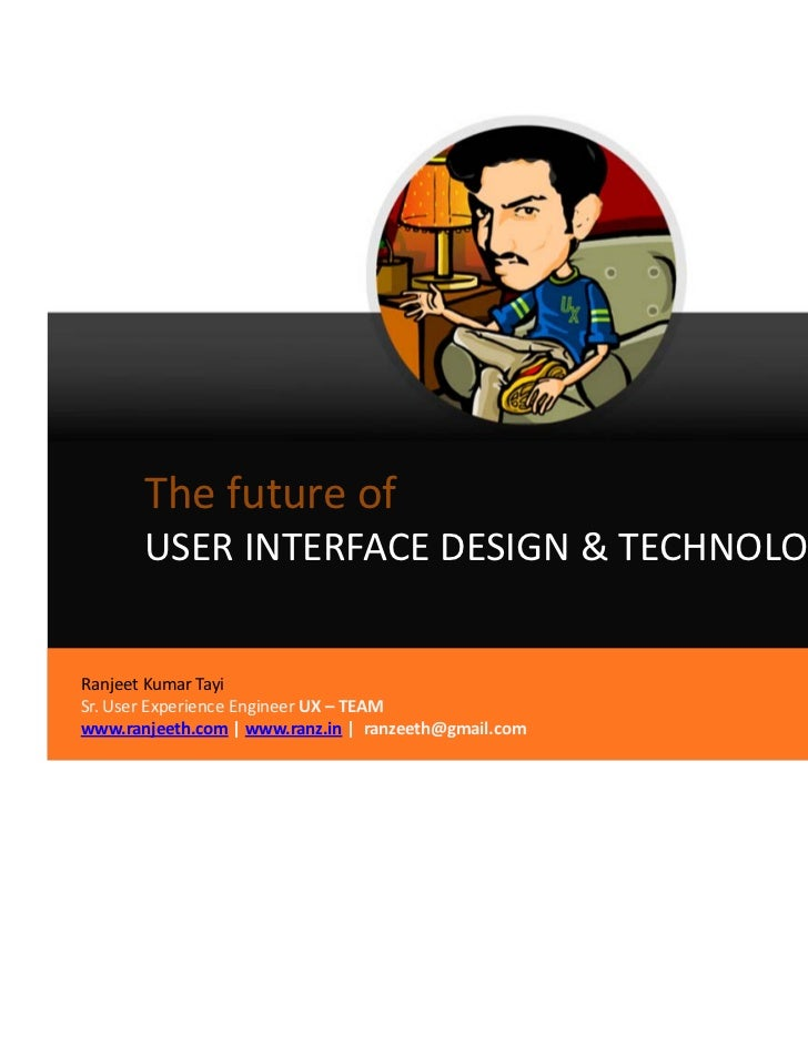 Future of user interface design