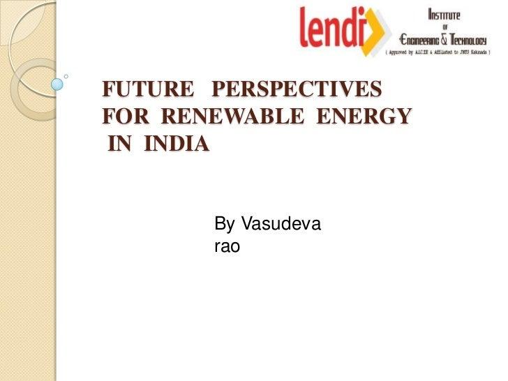 renewable energy in india pdf
