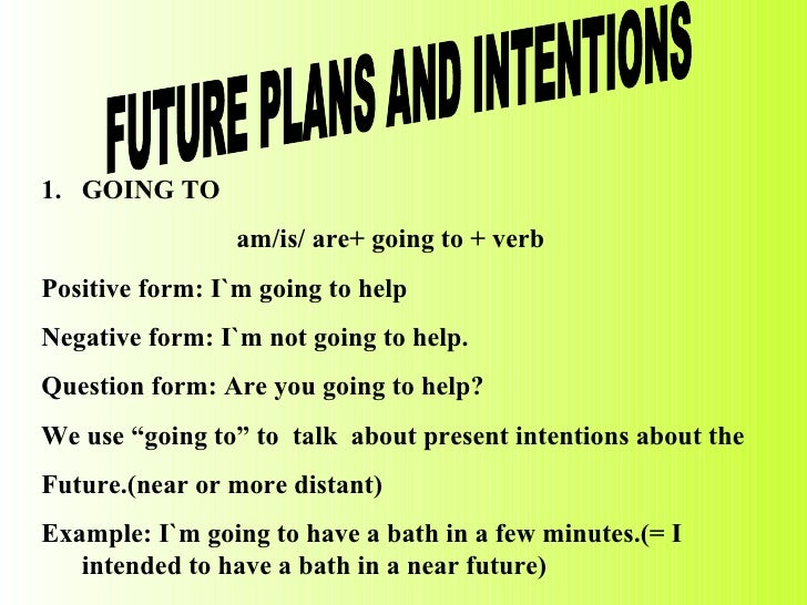 Future plan and ambition