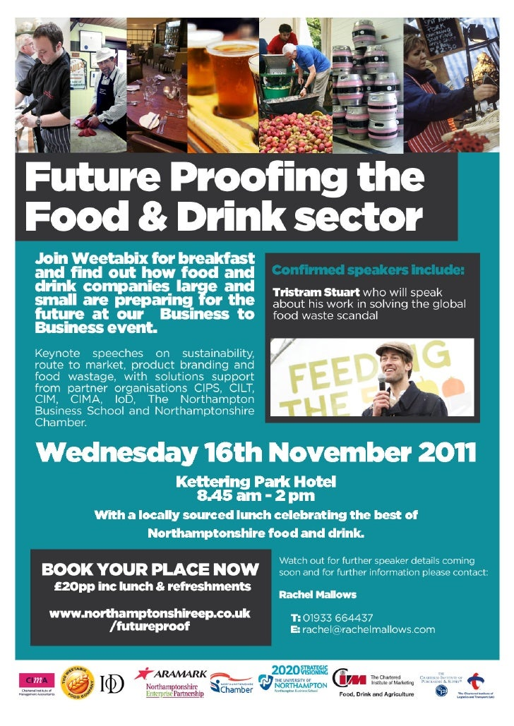 Future proofing the food and drink sector