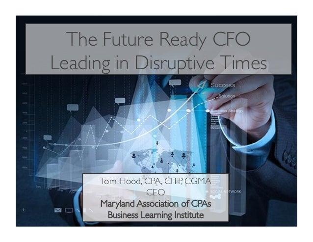 The Future Ready CFO