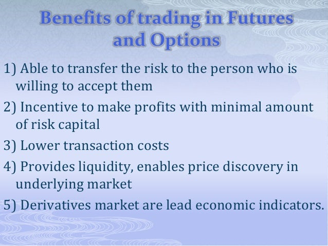 How to trade in nse futures and options