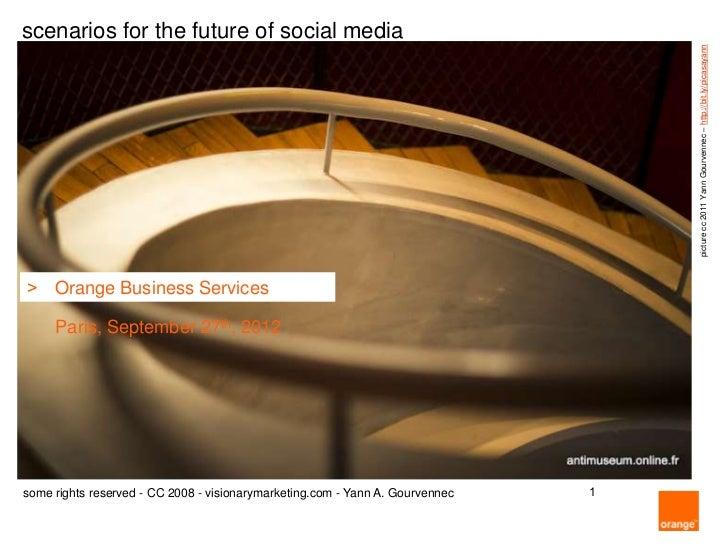 scenarios for the future of social media                                                                                  ...