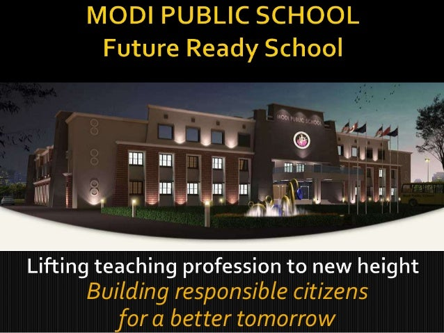 Building responsible citizens for a better tomorrow