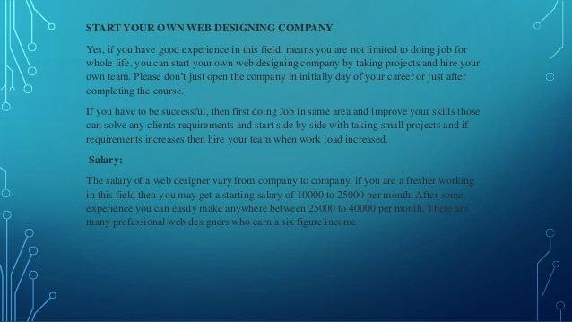Future Scope Of Website Designing In India