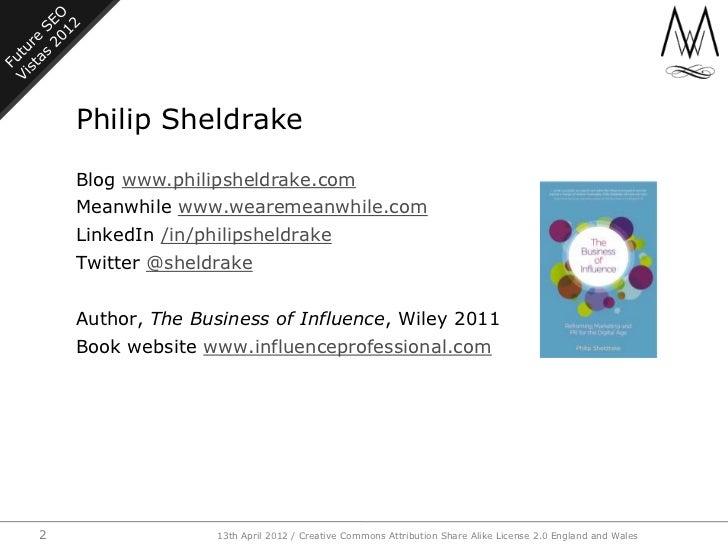 Future SEO Vistas 2012 Slide 2