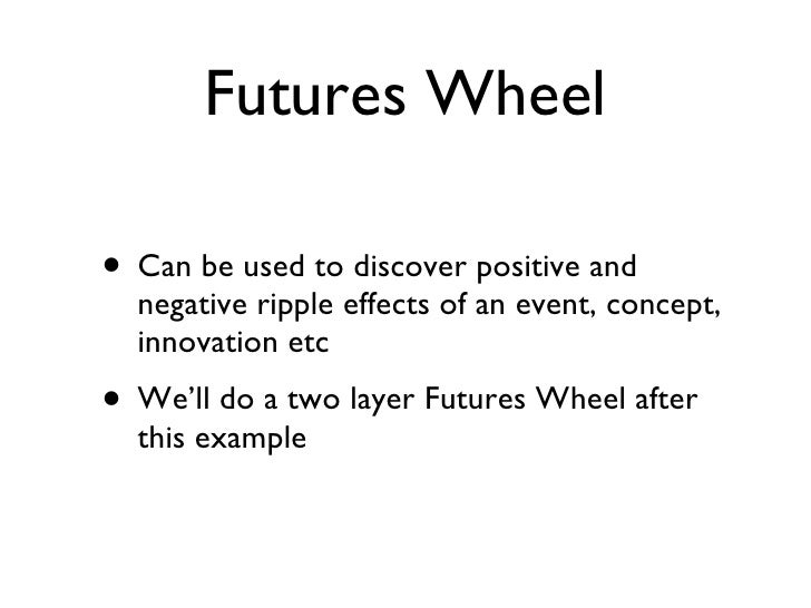 Futures Wheel Inquiry Question About Bring Your Own Device