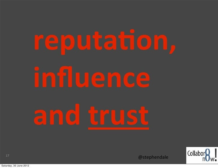 reputa-on,                          influence                          and trust   17                                ...