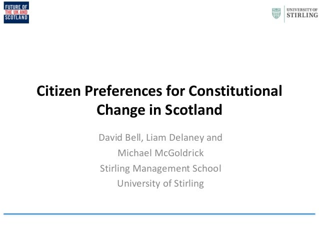Future of the UK and Scotland presentation, 4 June 2014