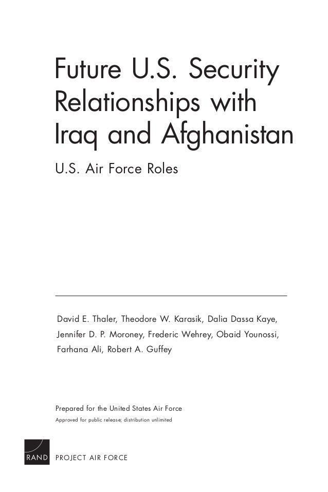 afghanistan and iraq relationship
