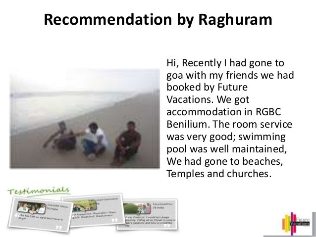 Future Vacation Jayanagar Bangalore Reviews