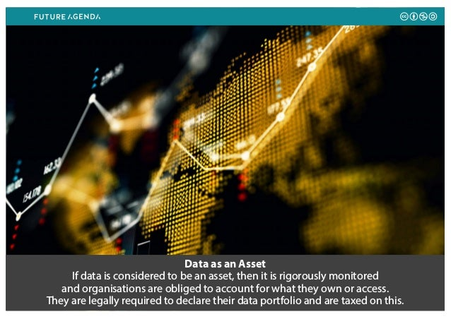 Data as an Asset If data is considered to be an asset, then it is rigorously monitored and organisations are obliged to ac...