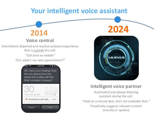 Your intelligent voice assistant Voice control Intermittent disjoined and reactive assistant experience that is outside th...