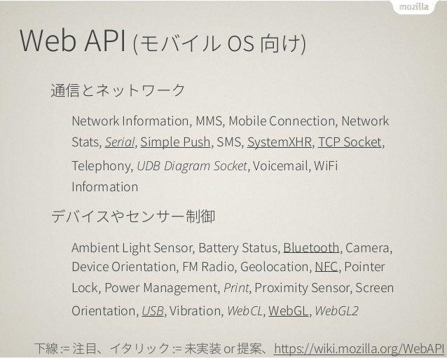 f  Chrome Apps  Firefox Apps  Firefox や Chrome では Web アプリを  独立したアプリとしてインストール可能