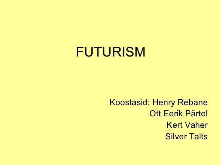 notes on futurism Futurism technologies, piscataway, new jersey 12k likes futurism invests extensively in r&d to conceive new solutions for the ever-changing needs of.