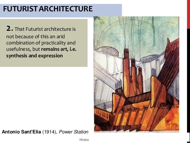 Neo-futurism: an overview for students in architecture training.