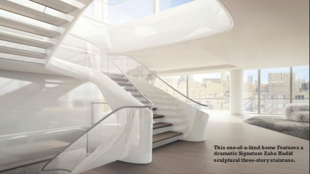 Incredible one of a kind futuristic penthouse 5 beds 6 5 for One of a kind beds