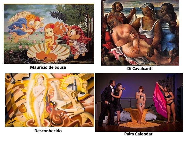 Mauricio de Sousa Di Cavalcanti Desconhecido Palm Calendar