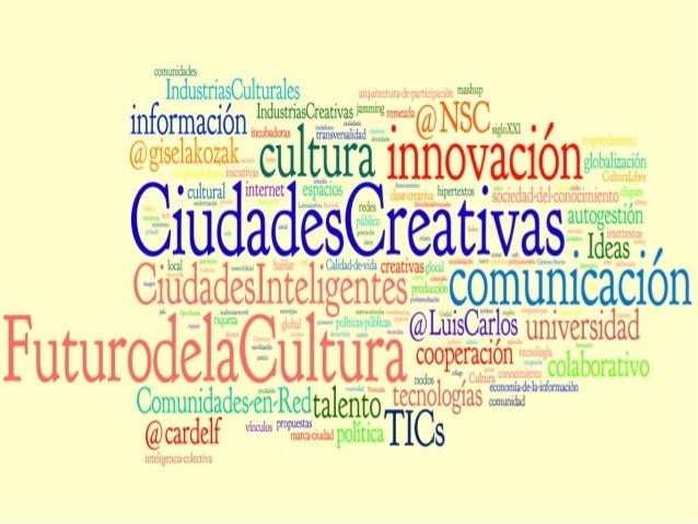 Una oportunidad para hacer industrias creativas.