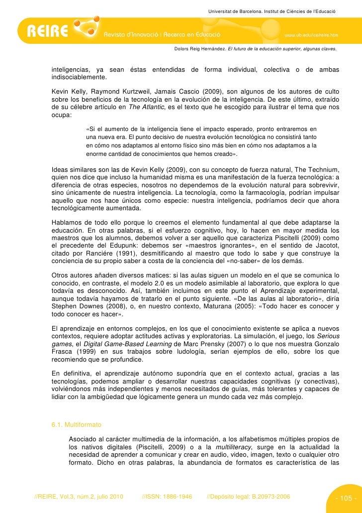 Universitat de Barcelona. Institut de Ciències de l'Educació                                                        Dolors...