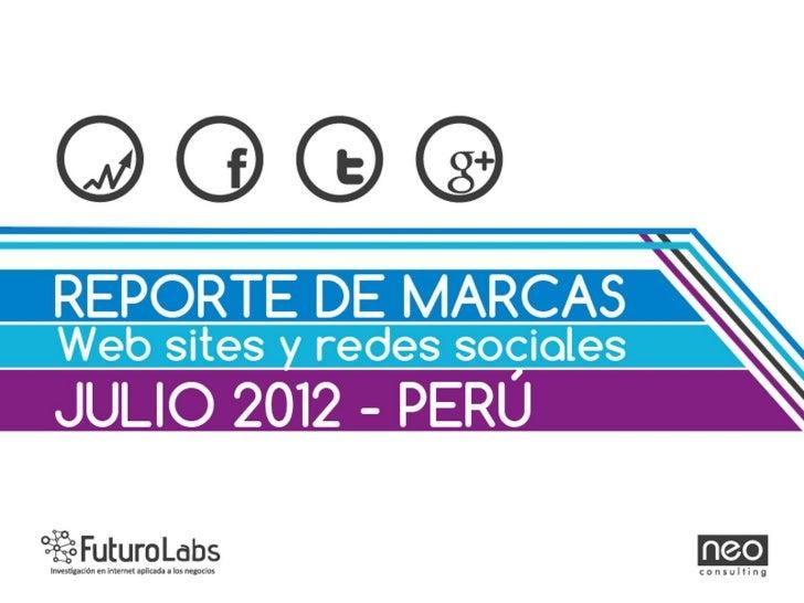 Presentamos el reporte mensual del mes de Julio, en el destacamos el especial:Perfil del usuario influyente y popular de t...