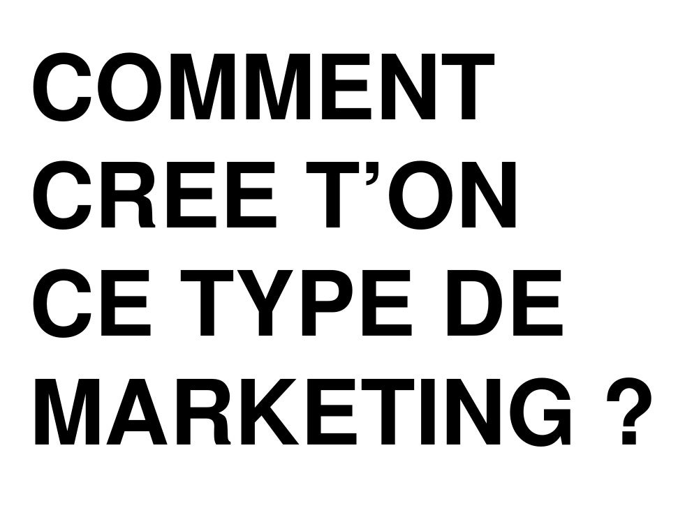 Le futur de la pub et du marketing