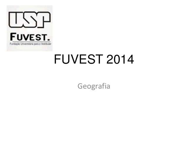 Fuvest 2013