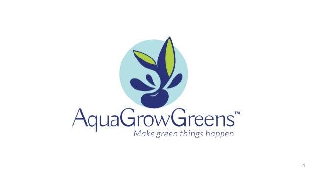 VIISA Investment Day #3 - AquaGrowGreens Slide 1