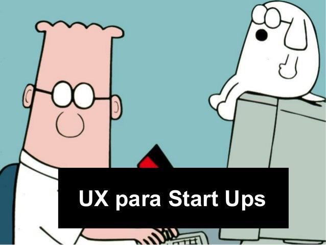 UX para Start Ups