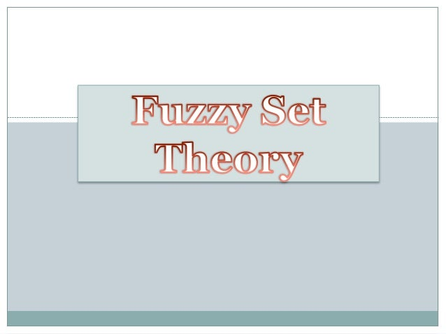 What is Fuzzy?  Fuzzy means  not clear, distinct or precise;   not crisp (well defined);  blurred (with unclear outlin...