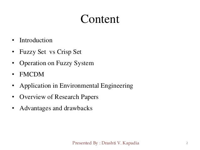 introduction to fuzzy sets and fuzzy logic pdf