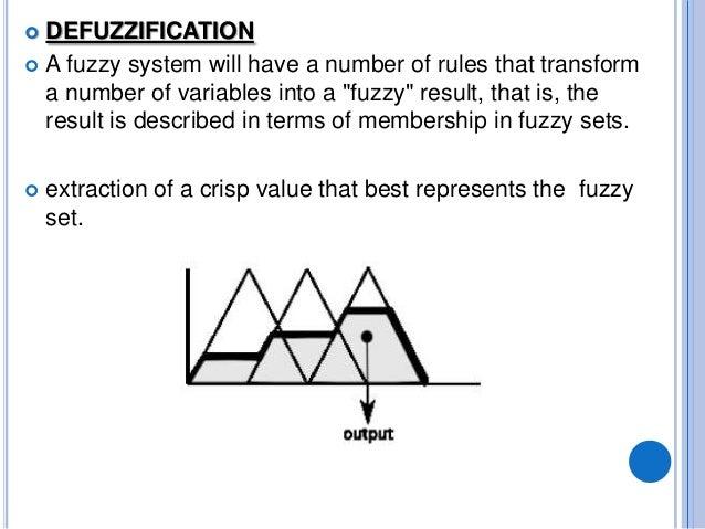 Trading system fuzzy logic