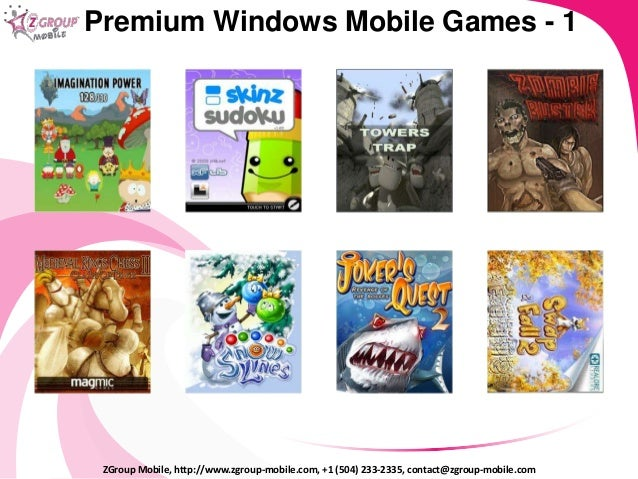 ZGroup Mobile Company Presentation 2014