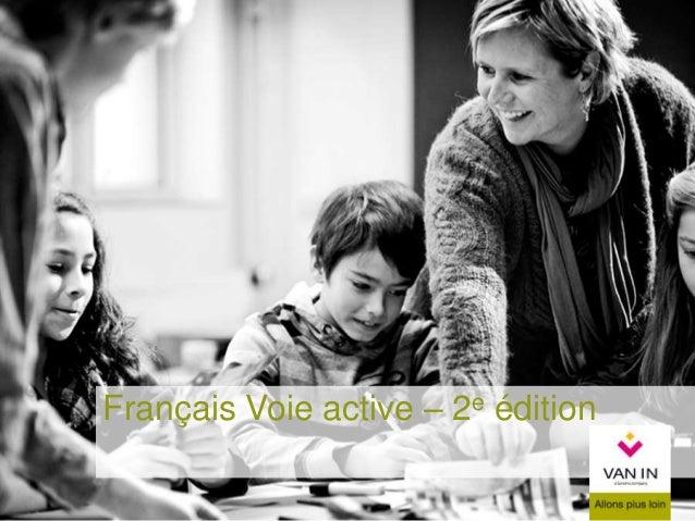 Français Voie active – 2e édition