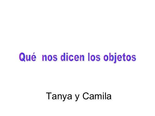 Tanya y Camila