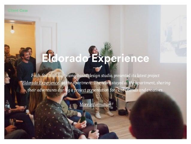 "Eldorado Experience Folch Studio, a Barcelona-based design studio, presented its latest project ""Eldorado Experience"" at t..."