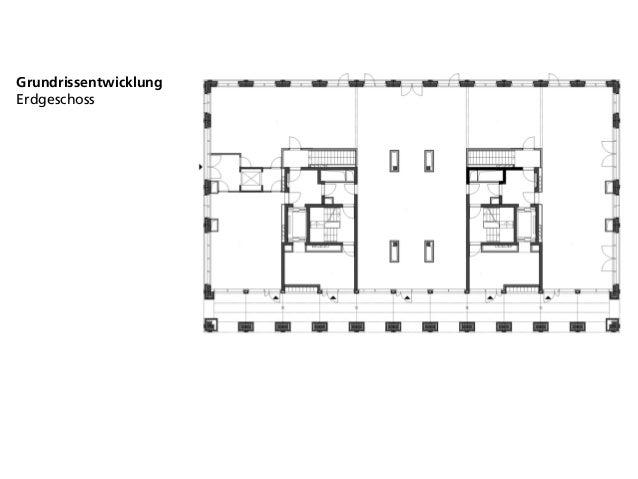 Grundrissentwicklung Erdgeschoss