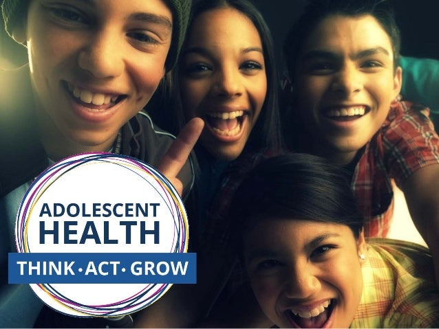 Adolescent Health  Think  Act  Grow  Tag  U2120