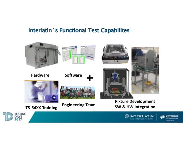Functional Test Systems - Testing Days Bajío