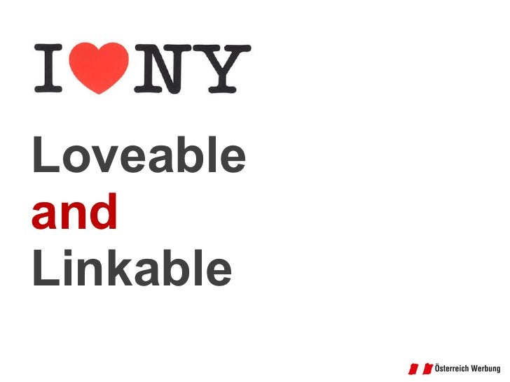 Loveable and Linkable