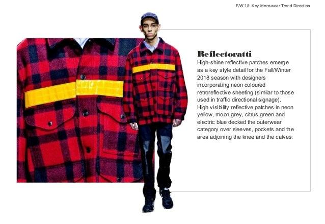 Fall Winter 2018 Key Menswear Trends Directions