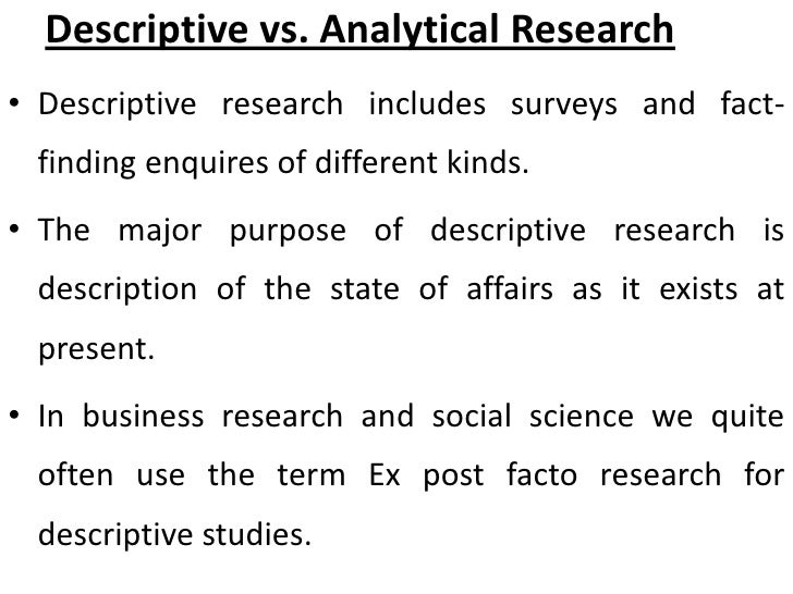 the main purpose of descriptive statistics is to Rizing the study according to its primary statistical purpose in terms of examining  variables this purpose may be describing variables, testing hypotheses about.