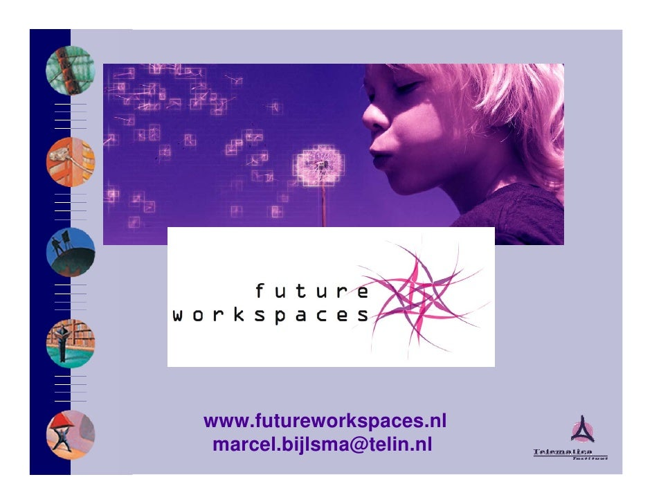 www.futureworkspaces.nl  marcel.bijlsma@telin.nl