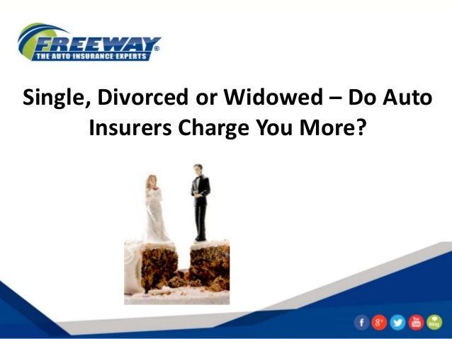single widowed or divorced