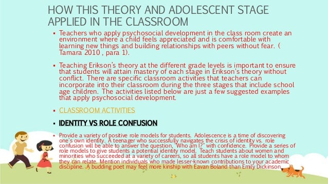 theory of psycosocial development Identity status theory (marcia)  based on erik erikson's groundbreaking work on identity and psychosocial development in the 1960s, .