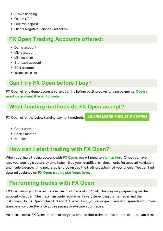 Fx open broker review